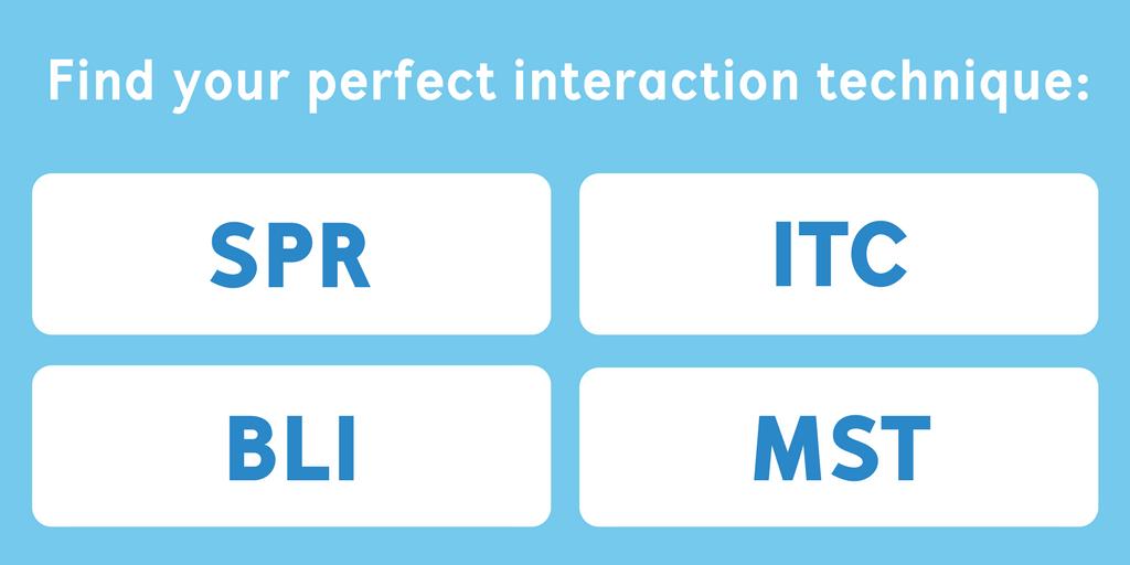 SPR vs ITC vs MST vs BLI: Discover your optimal interaction technique with our Comparison & Quiz