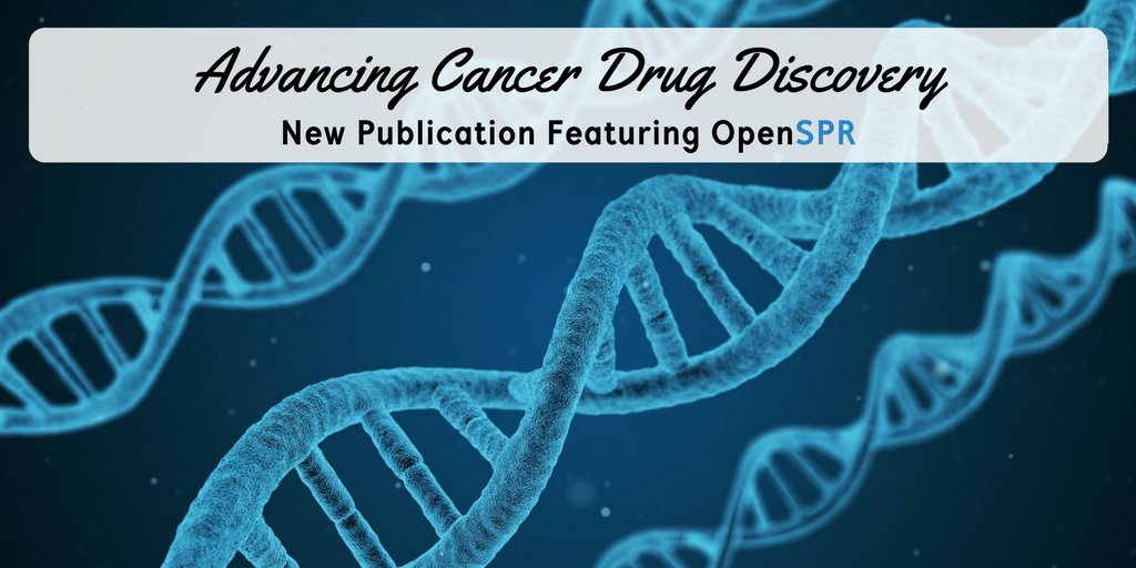 New Publication – OpenSPR binding data helps advance cancer drug discovery