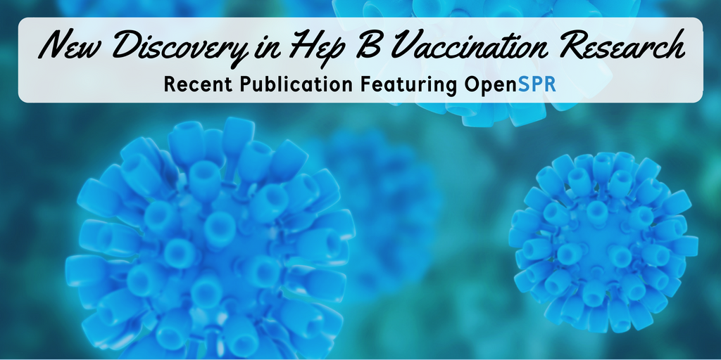 New Publication – OpenSPR Antibody Binding Data Challenges Traditional Hepatitis B Vaccination Strategies