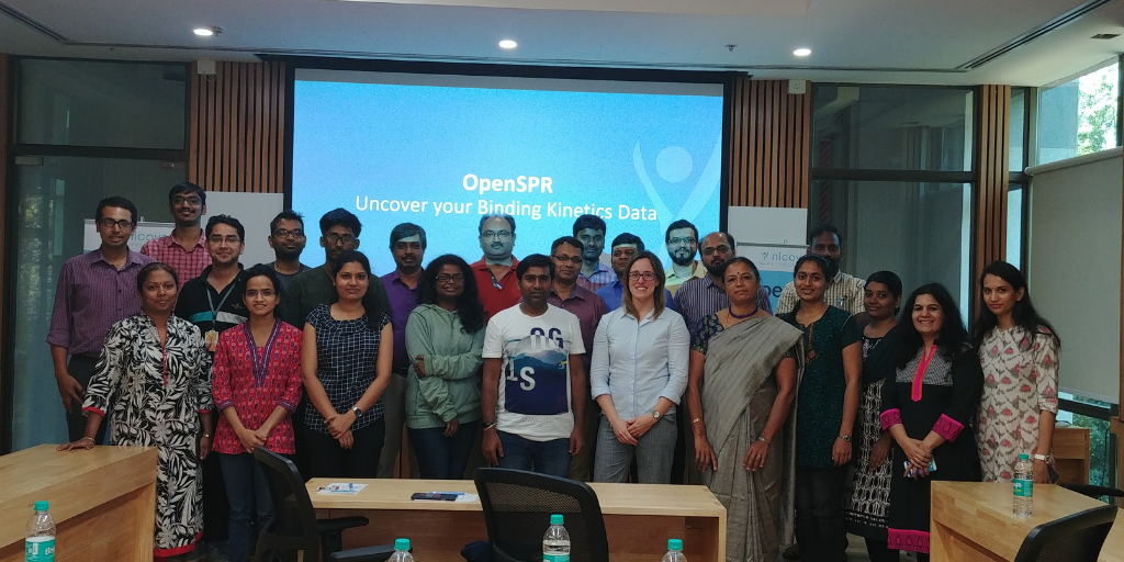 The OpenSPR Centre of Excellence – Building a Community of Innovative Researchers in India & Beyond